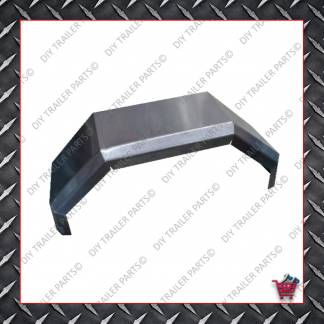 "Trailer Mud Guard - Single Axle - Smooth (Suits 13"" to 14"")"