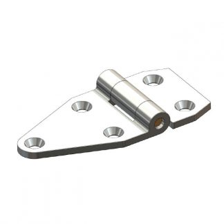 Maintenance Free Hinge - 5 Bolt